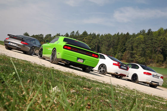 Abt AS5-R Geiger Challenger SRT8 Krause M3 Race Speedart 911 SRS 420