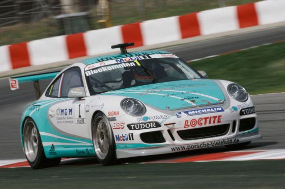 Porsche-Mobil1-Supercup, 3. Lauf in Barcelona, Jeroen Bleekemolen