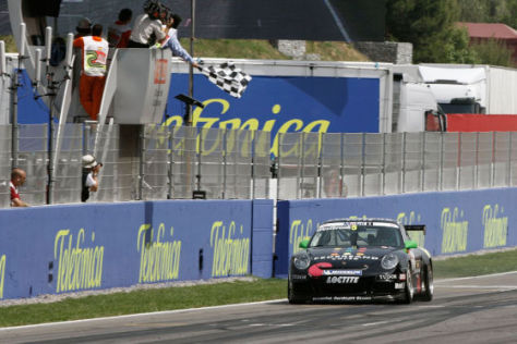 Porsche-Mobil1-Supercup, 3. Lauf in Barcelona, Richard Westbrook