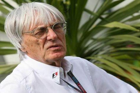 Bernie Ecclestone ist zuversichtlich, 2010 in Donington Rennen fahren zu können