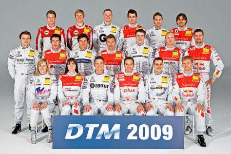 DTM-Saison 2009, Das Fahrerfeld