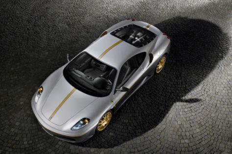 Ferrari F430 für Erdbebenopfer