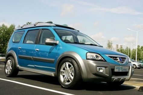 "Test Dacia Logan ""Concept Steppe"""