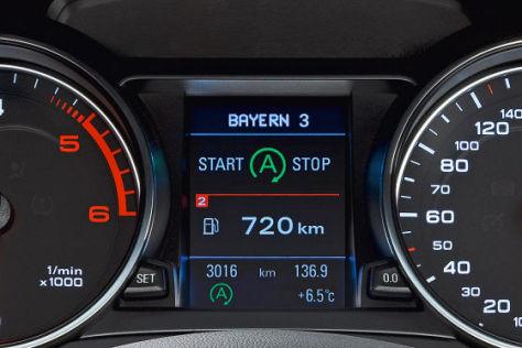 Audi mit Start-Stopp-Automatik