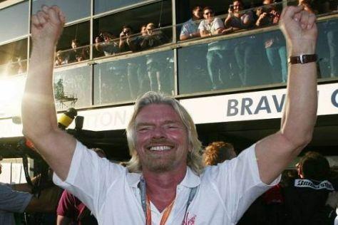 Virgin-Boss Richard Branson wird von Brawn vorerst weiter hingehalten