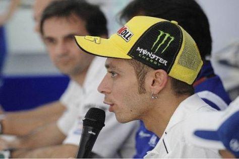 Valentino Rossi rechnet sich in Le Mans gute Chancen auf den Sieg aus