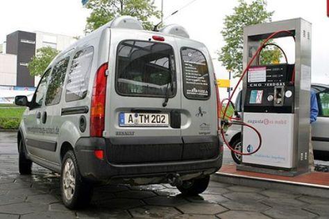 Test Renault Kangoo 1.6 4x4 mit Erdgas