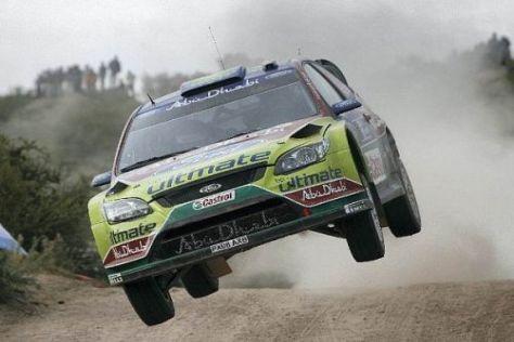 Mikko Hirvonen und Jari-Matti Latvala wollen auf Sardinien nach vorn kommen