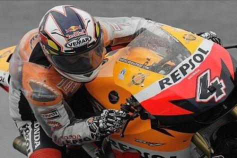 Andrea Dovizioso sicherte sich zum Auftakt in Le Mans die Bestzeit