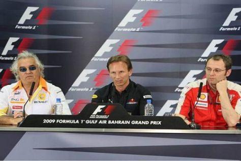 Die Teambosse versuchen gegenüber der FIA Einigkeit zu zeigen