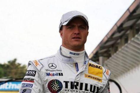 Ralf Schumacher arbeitet noch daran, sich an seine neue C-Klasse zu gewöhnen