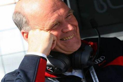 Vierfachsieg für Audi: Sportchef Wolfgang Ullrich kann soweit zufrieden sein