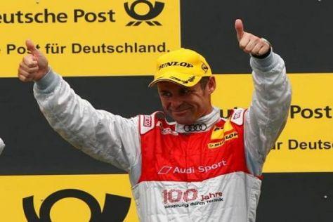Tom Kristensen ist mit einem Sieg in seine letzte DTM-Saison gestartet
