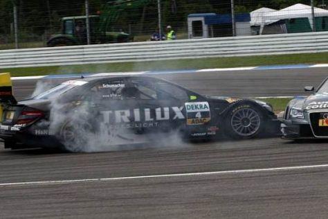Ralf Schumacher hatte ein Rennen mit reichlich Turbulenzen