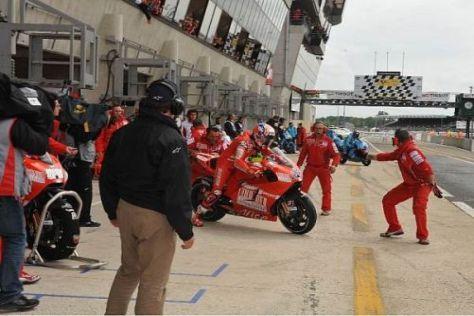 Motorradwechsel bei Casey Stoner: Danach lief es deutlich besser...