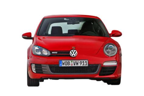 Montage Golf VI + Porsche 911 Carrera S