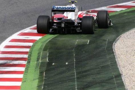 Das Toyota-Team war in Barcelona deutlich schwächer als erwartet unterwegs