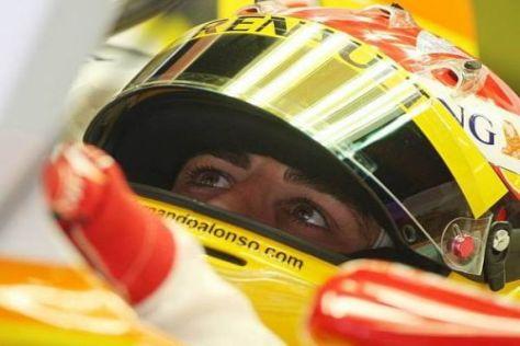 Fernando Alonso will möglichst schnell wieder an die Spitze fahren