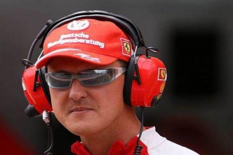 Michael Schumacher stand in seiner Rolle als Ferrari-Berater zuletzt in der Kritik