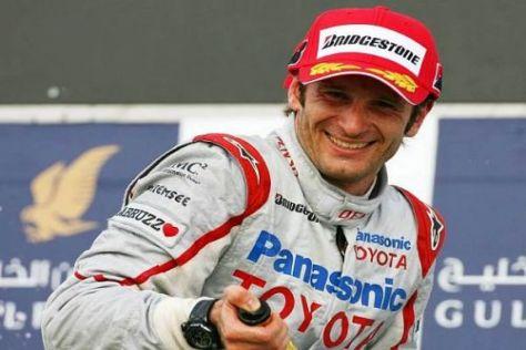 Jarno Trulli will in Monaco wieder Champus versprühen können