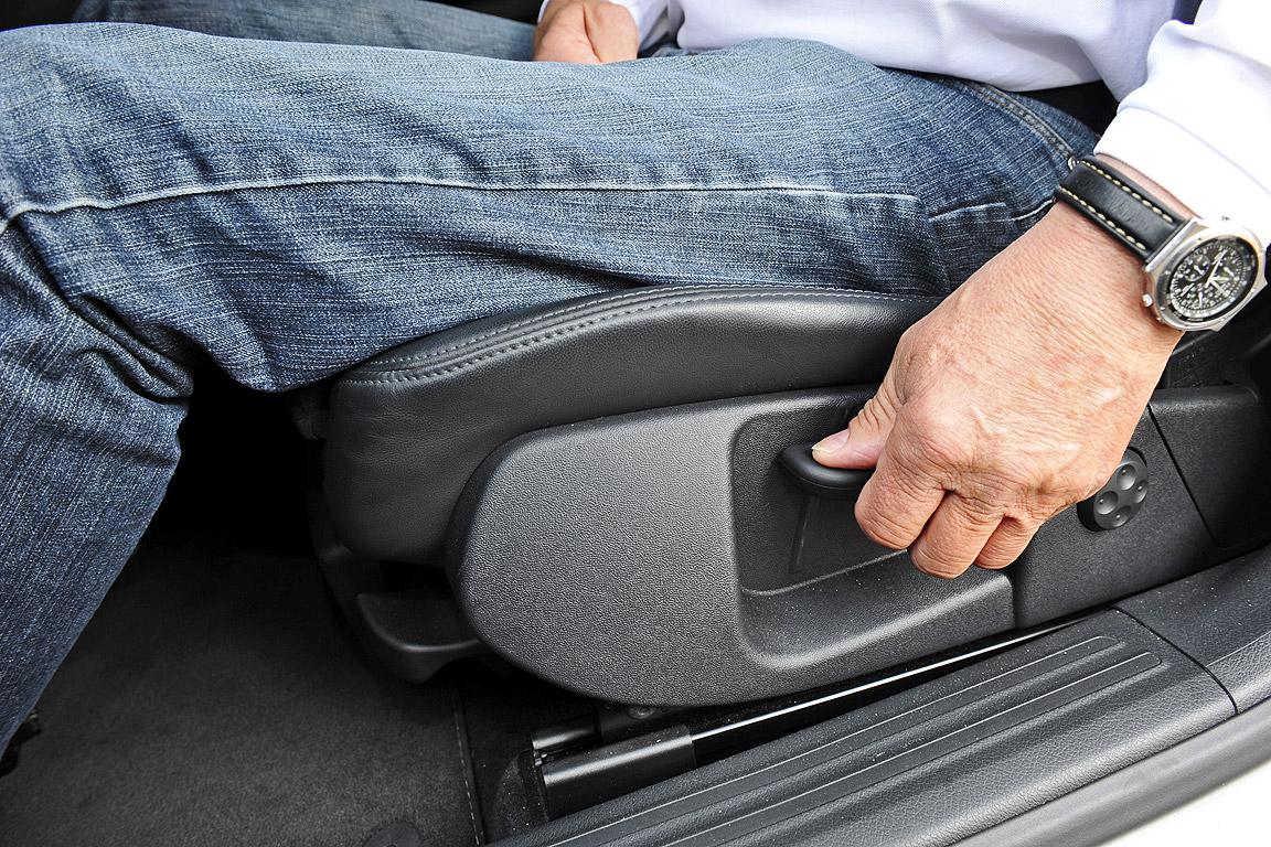 Auto Sitzhöhe