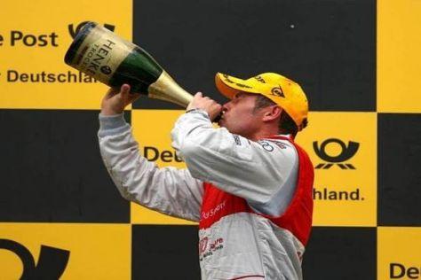 Tom Kristensen: Dieser Siegerschluck soll nicht der Letzte gewesen sein