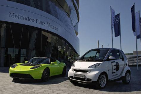 Startegische Partnerschaft Daimler und Tesla