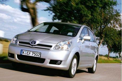 Rückruf Toyota Corolla Verso