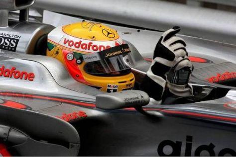 Im vergangenen Jahr holte sich Lewis Hamilton seinen ersten Monaco-Sieg