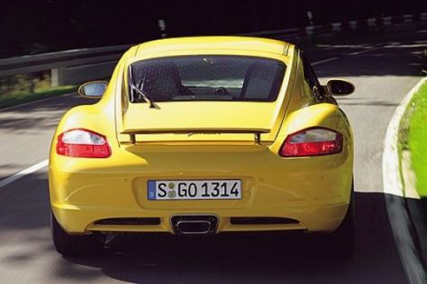 Test Porsche Cayman