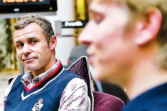 DTM-Fahrer Tom Kristensen und Christian Bakkerud