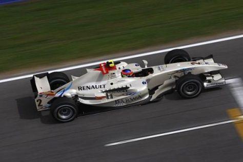 Romain Grosjean soll für Campos den Titel in der GP2-Serie holen