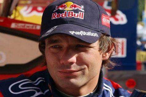 Sébastien Loeb holte sich die Bestzeit, rechnet aber mit Zeitverlust am Freitag