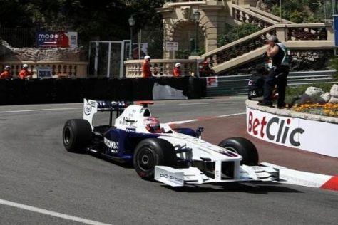 Robert Kubica konnte im 2. Freien Training nur zwei Runden fahren