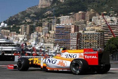 Nelson Piquet war am Donnerstag schneller als Teamkollege Alonso