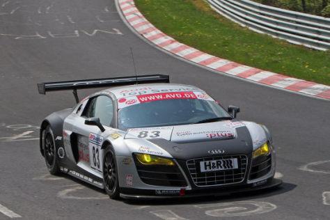 24 Stunden Nürburgring 2009 Audi R8 LMS