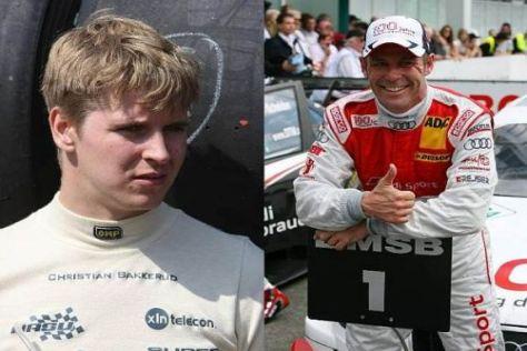 Dänisches Duo: Newcomer Christian Bakkerud und Routinier Tom Kristensen
