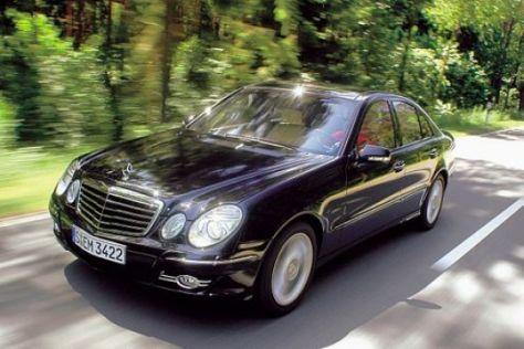 Test Mercedes E 420 CDI