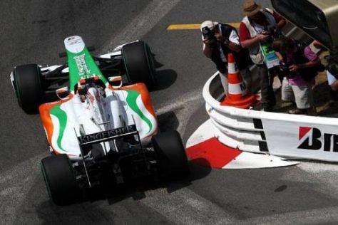 Adrian Sutil möchte sich im Rennen selbstbewusst in Mittelfeld behaupten