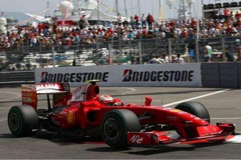 Kimi Räikkönen verpasste die Pole Position um einen Wimpernschlag
