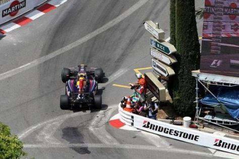 Sebastian Vettel war heute in Monte Carlo auf die Pole-Position angesetzt
