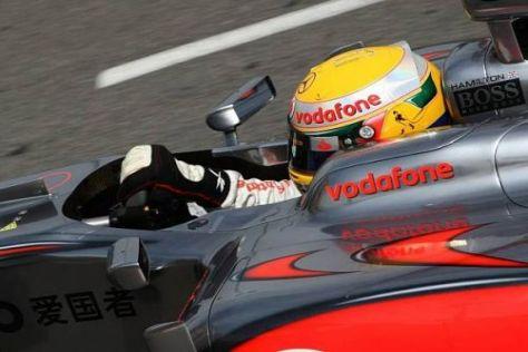 Lewis Hamilton muss im Rennen das Feld von hinten aufrollen