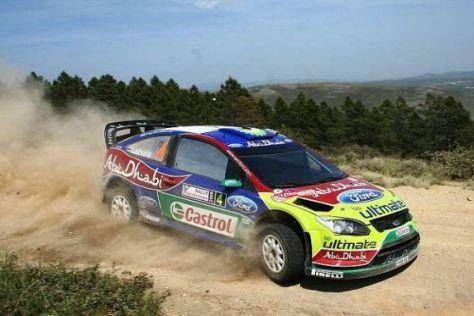 Jari-Matti Latvala hat auf Sardinien seinen zweiten WRC-Sieg eingefahren