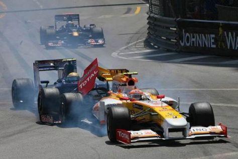 Sébastien Buemi verschätzte sich beim Angriff auf Nelson Piquet Jr.