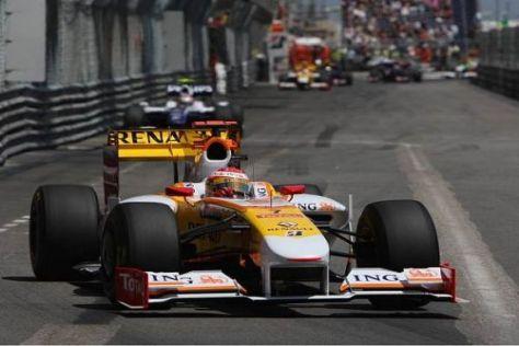 Fernando Alonso fuhr einmal mehr ein starkes Rennen bis in die Punkte