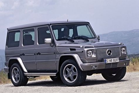 Mercedes G 55 AMG Kompressor