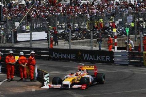 Fernando Alonso quetschte den Renault R29 in Monaco aus