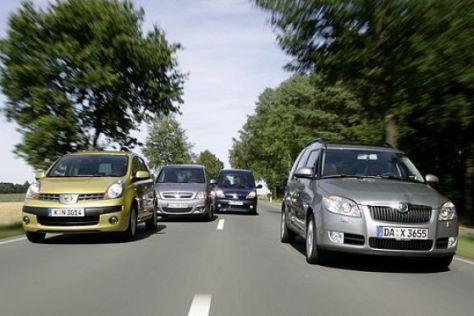 Minivans im Vergleich