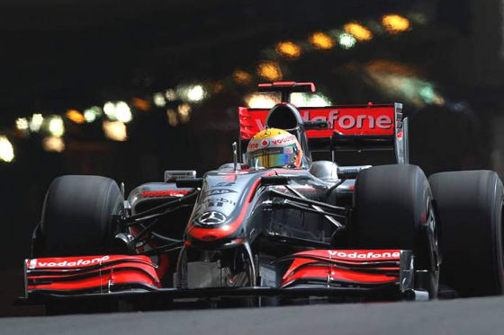 Formel 1 GP von Monaco 2009 Lewis Hamilton McLaren Mercedes