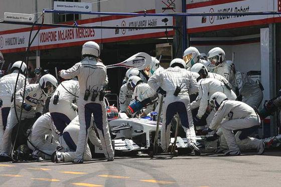 Formel 1 GP von Monaco 2009  Robert Kubica BMW-Sauber